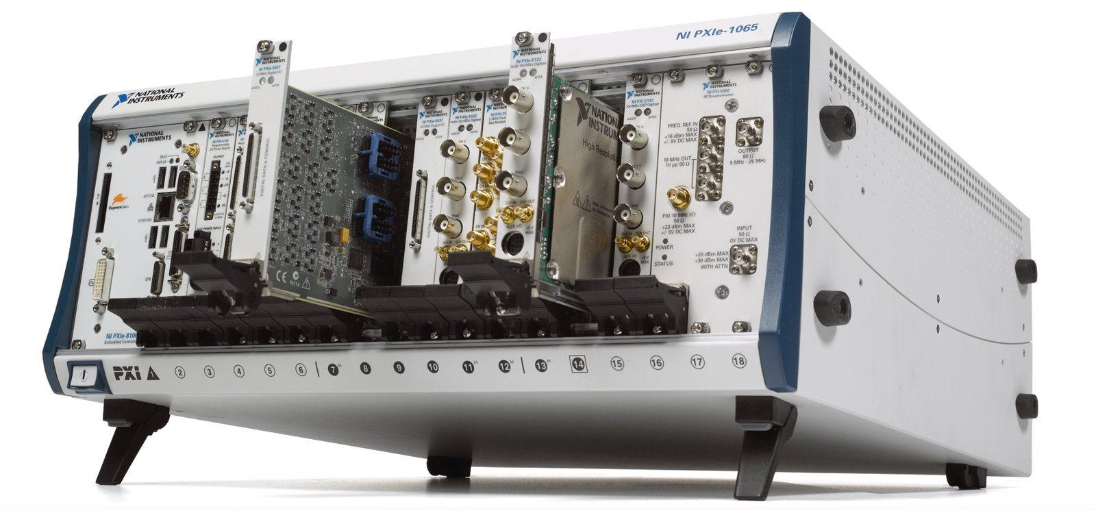 Модульная измерительно-контрольная платформа NI PXI